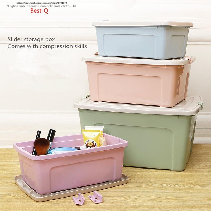 Free shipping Large size cover, storage box, wardrobe, storage case, plastic thickening clothing case, toy box