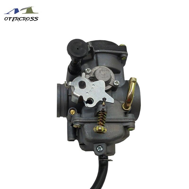 Größe 30mm Motorrad Vergaser JIANSHE LONCIN BASHAN ATV250 JS250 ATV250 Qingqi QM250GY GXT250 Choke Version