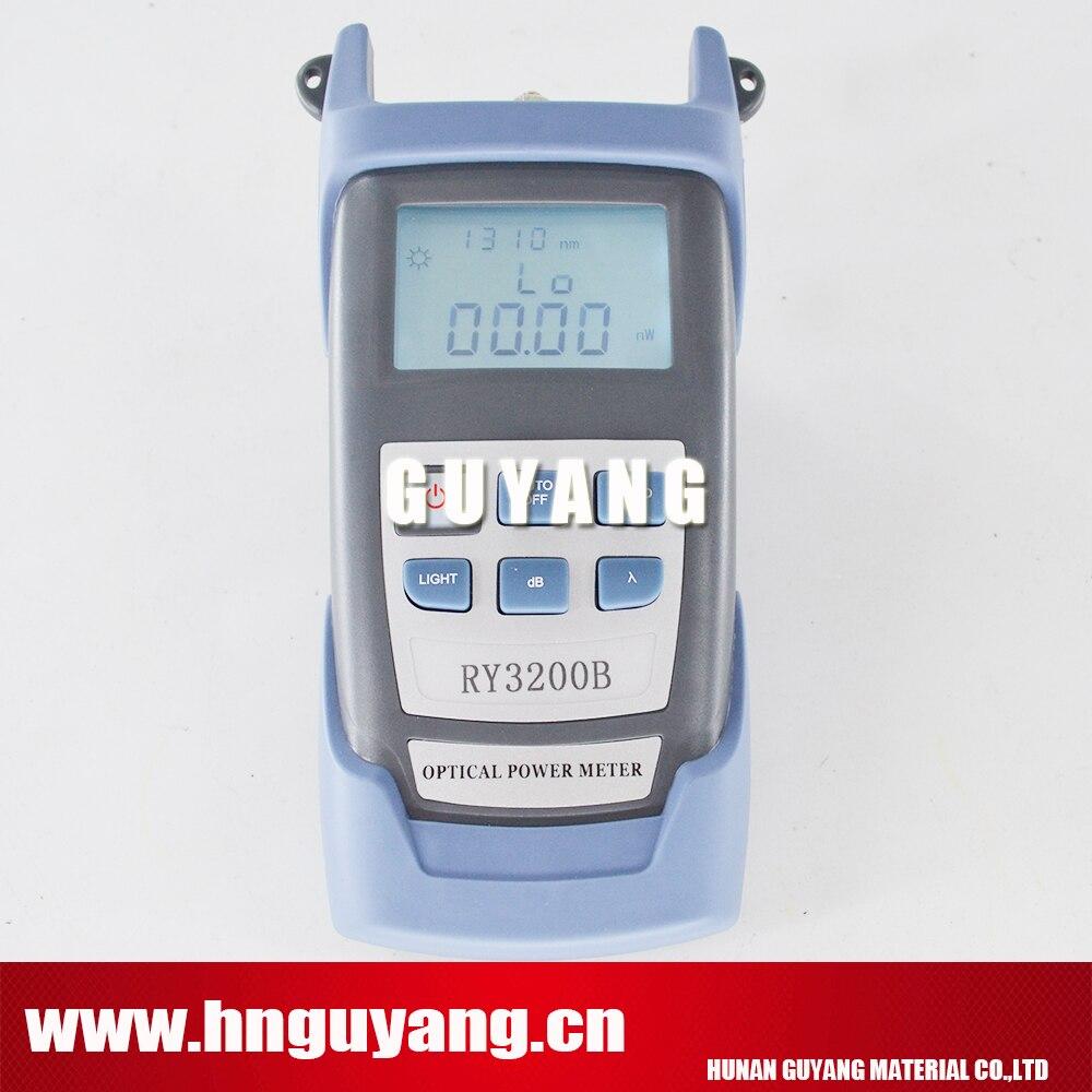 جهاز اختبار مقياس الطاقة الضوئية ، معدات الألياف البصرية ftth -50 ~ 26 RY3200B ، 7 أطوال موجية
