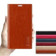 مصاصة غطاء جراب لهواتف htc M9 M 9 جودة عالية جلد طبيعي فاخر فليب حامل هاتف محمول حقيبة + هدية مجانية