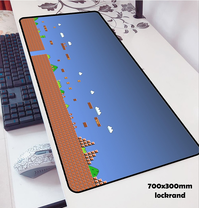 Коврики для мыши в стиле Марио locrkand коврик для мыши для ноутбука компьютерный коврик для мыши 70x3 0 см игровой коврик для мыши для клавиатуры ...
