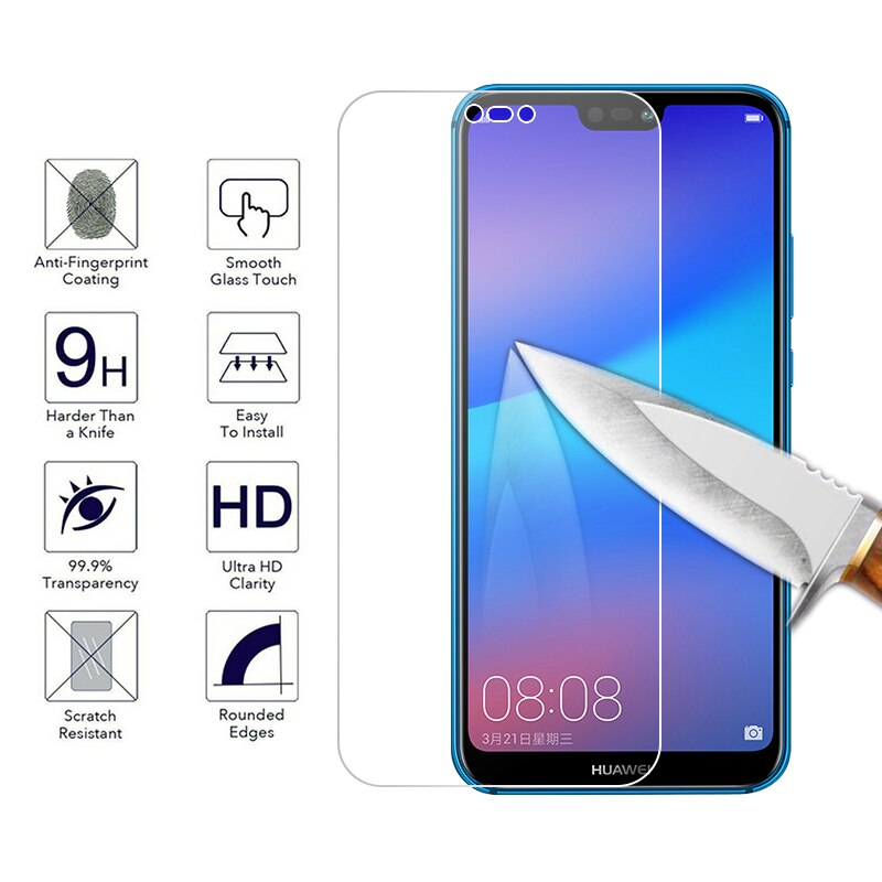 Gehärtetem Glas Für Huawei Honor 9 Lite 8X Mate 20 P30 Lite P20 Mate 10 Pro Y9 2018 Nova 3i p10 Plus Screen Protector Glas Film