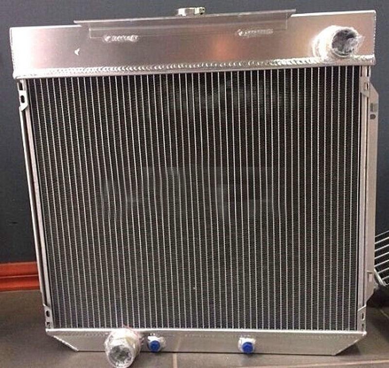 Aluminum Radiator For FORD 1972-1977 Falcon XA XB XC FAIRLANE ZF ZG 6 cyl AT/MT 72 75 77