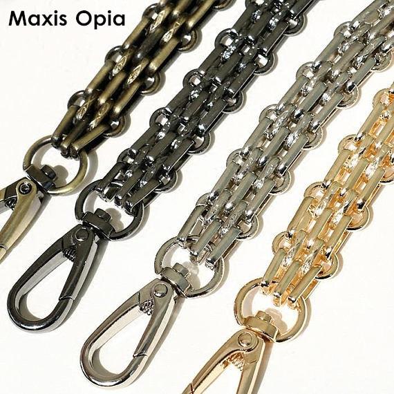(DIY 40 см-140 см) золотой, черный, серебристый, металлический сменный кошелек с цепочкой через плечо для маленькой сумки