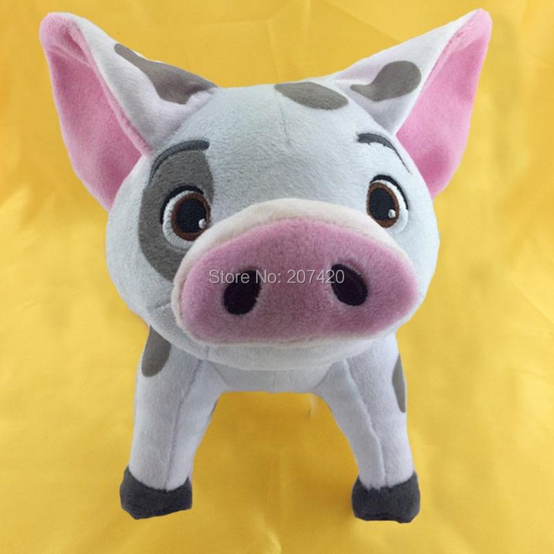 20cm Movie Moana Pet Pig Pua Plush Toy Pepa Cartoon Plush Toy Dolls