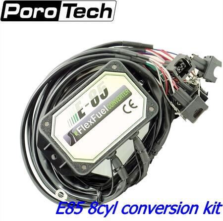 e85 conversion kit 8cyl -- Cold Start Asst. with Alloy Case, bioethanol , ethanol e85 flex fuel kit