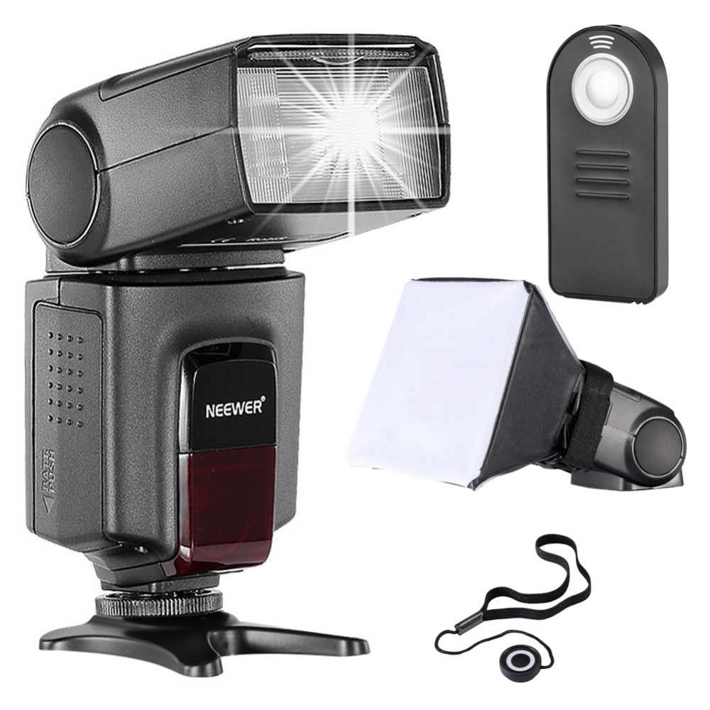 Nuevo TT560 Flash Kit de Speedlite para Canon Nikon Sony Pentax cámaras DSLR con el zapato caliente estándar TT560 Flash Control remoto, etc.