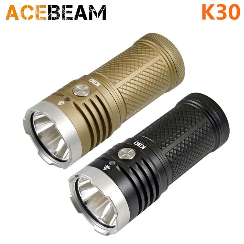 ACEBEAM K30 CREE XHP70.2 светодиодный фонарик 5200 люмен 3*18650