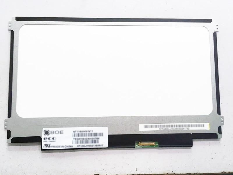 NT116WHM-N11 V4.0 mate para HP CHROMEBOOK 7265NGW 11 G5 pantalla LED 1366x768