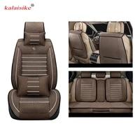 kalaisike linen universal car seat cover for hyundai all model i30 ix25 ix35 solaris elantra terracan accent azera lantra tucson