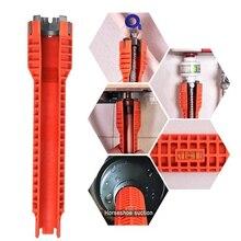 Neue Wasserhahn und Waschbecken Installer Wrench Anti-Slip Griff Doppel Kopf Wrench Werkzeug Extra-lange design Wrench Tools