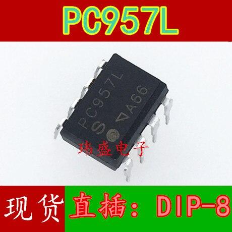 Nova PC957L PC957 DIP8 em-linha optoacoplador importado original local