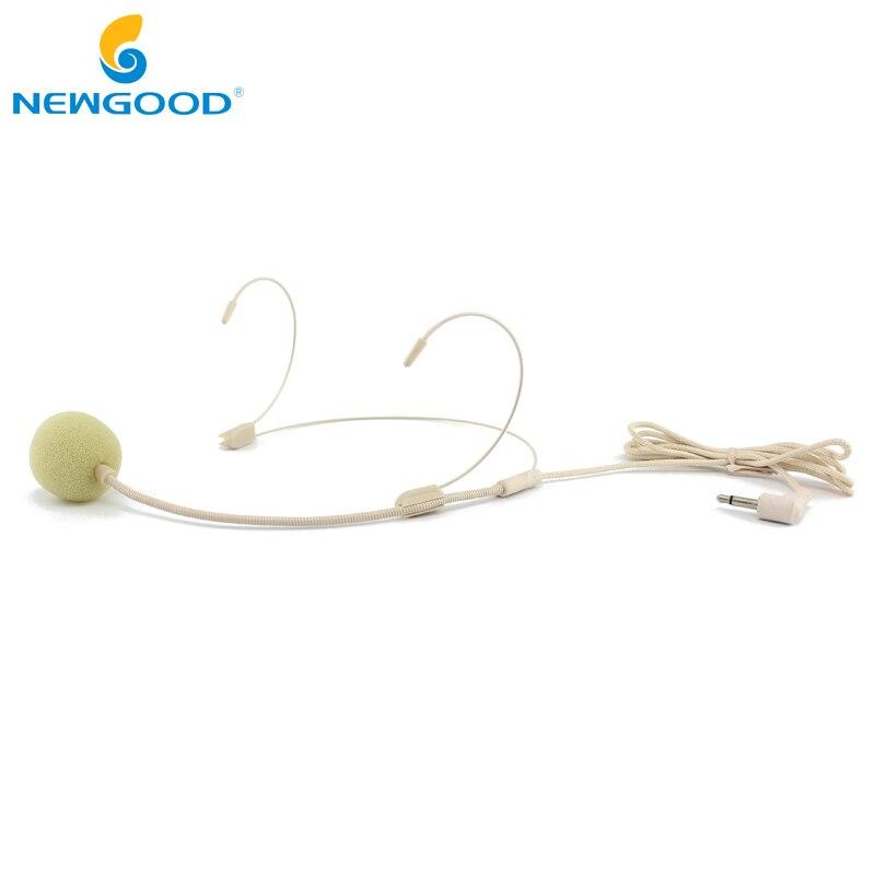 Micrófono de Color piel con cable Vocal auriculares con gancho para la...