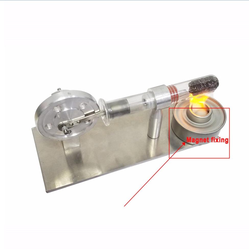 Mini Stirling Engine Micro Generator External Turbine Steam Engine Model Science Education Supplies
