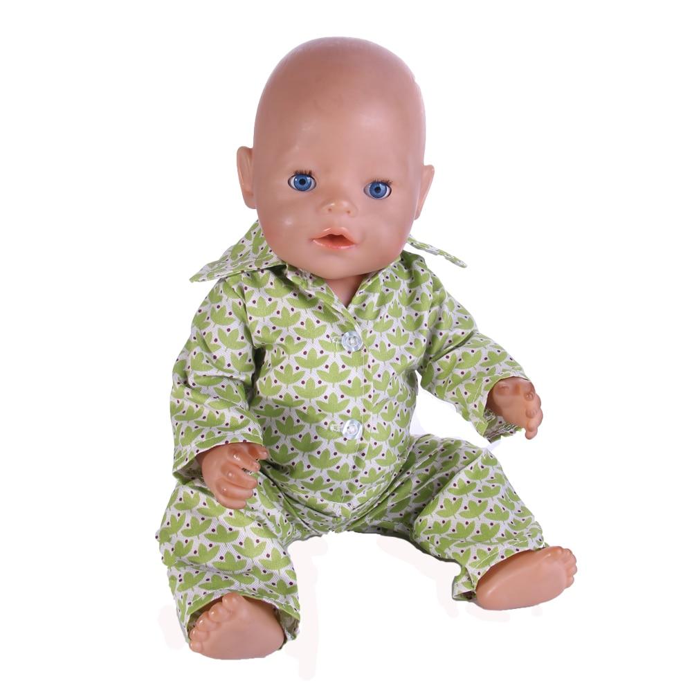 8 estilos set de ropa para muñeca Wear fit 43cm muñeca de los niños mejor regalo de cumpleaños de n570