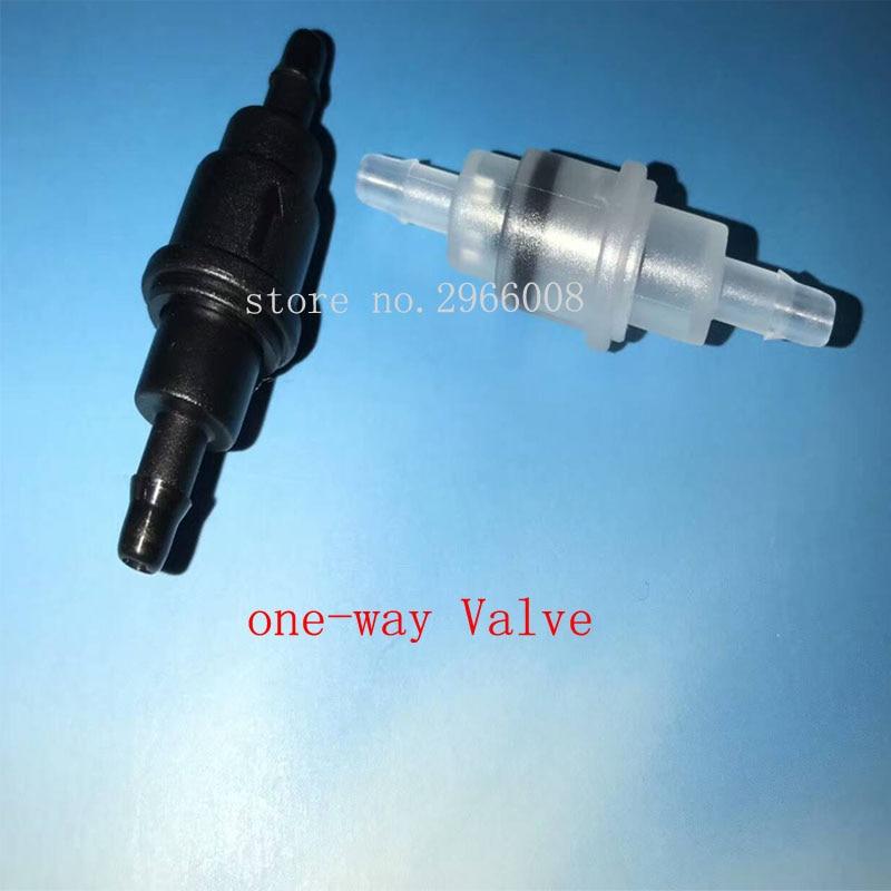 Бесплатная доставка! 10 шт. односторонний клапан принтер управление чернилами Однолинейный клапан для УФ-растворителя принтер используется...