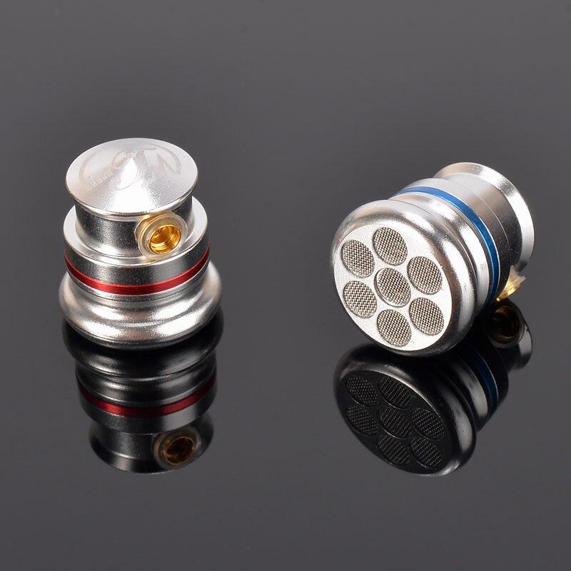 TONEKING TY2 Pro con micrófono Earbud Full Metal vivienda Coaxial doble dinámica HIFI fiebre Metal Earbud MMCX auricular