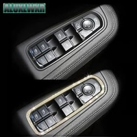 car styling car window lifter decorative sequins crystal trim special modified fit for porsche macan turbo cayenne panamera s