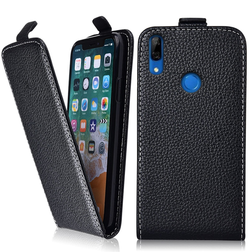 P Smart Z Case for Huawei P Smart Z STK-LX1 6.59'' Coque TPU Cute 3d Emboss Flower Animal Flip Leather Phone Case
