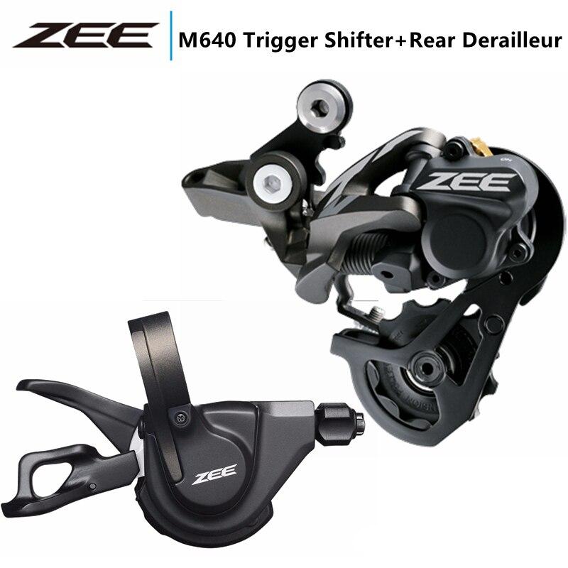 Shimano ZEE M640 Trigger Shifter + Rear Derailleur 10s 1 x 10 speed