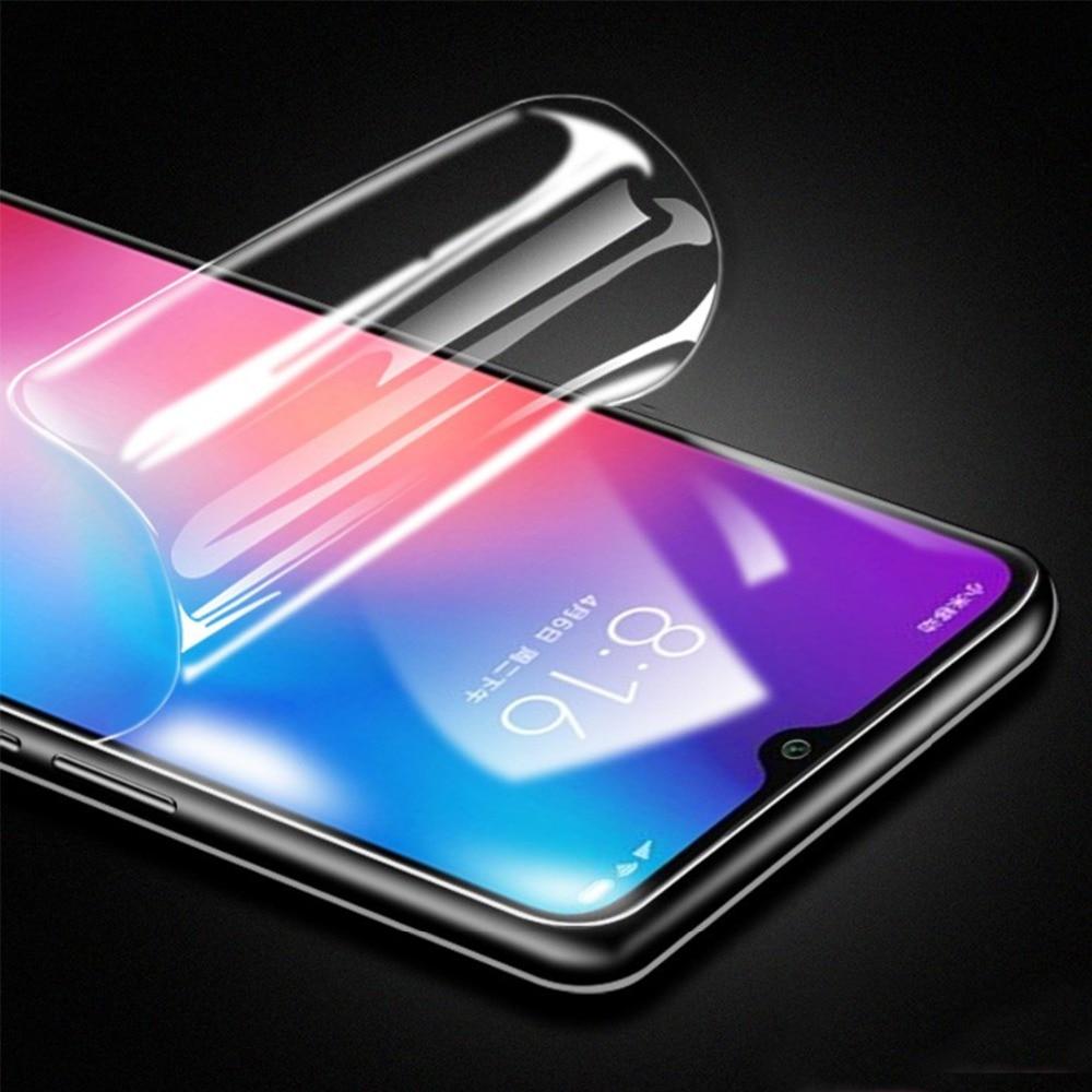 Película de hidrogel 6D para Xiaomi mi 8 9 SE Lite Pro pocofone F1 F2 protector de pantalla suave para Red mi Note 5 7 Pro cubierta completa Nano Film