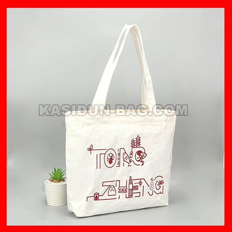 (500pcs/lot) Size 36x36x10 cm  custom logo cotton canvas shopping eco  calico bag logo