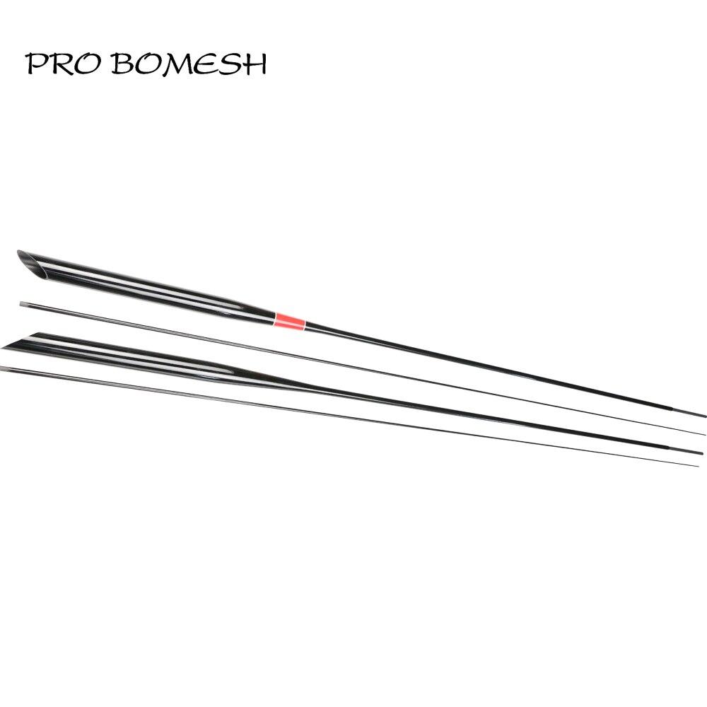 Pro Bomesh 1 комплект 1,92 м 2 секции 1,5-4lb 1,5-4,5 г UL быстрое действие карбоновое волокно форель Рыбалка хлыст удилища конические приклады DIY удочка