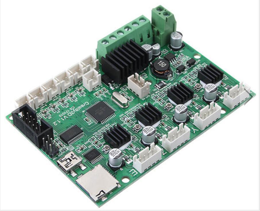 Mainboard da Impressora do Painel de Controle com Porta Chip de Potência Kuaijiewei Impressora Loja 12 v Usb & 3d Cr-10