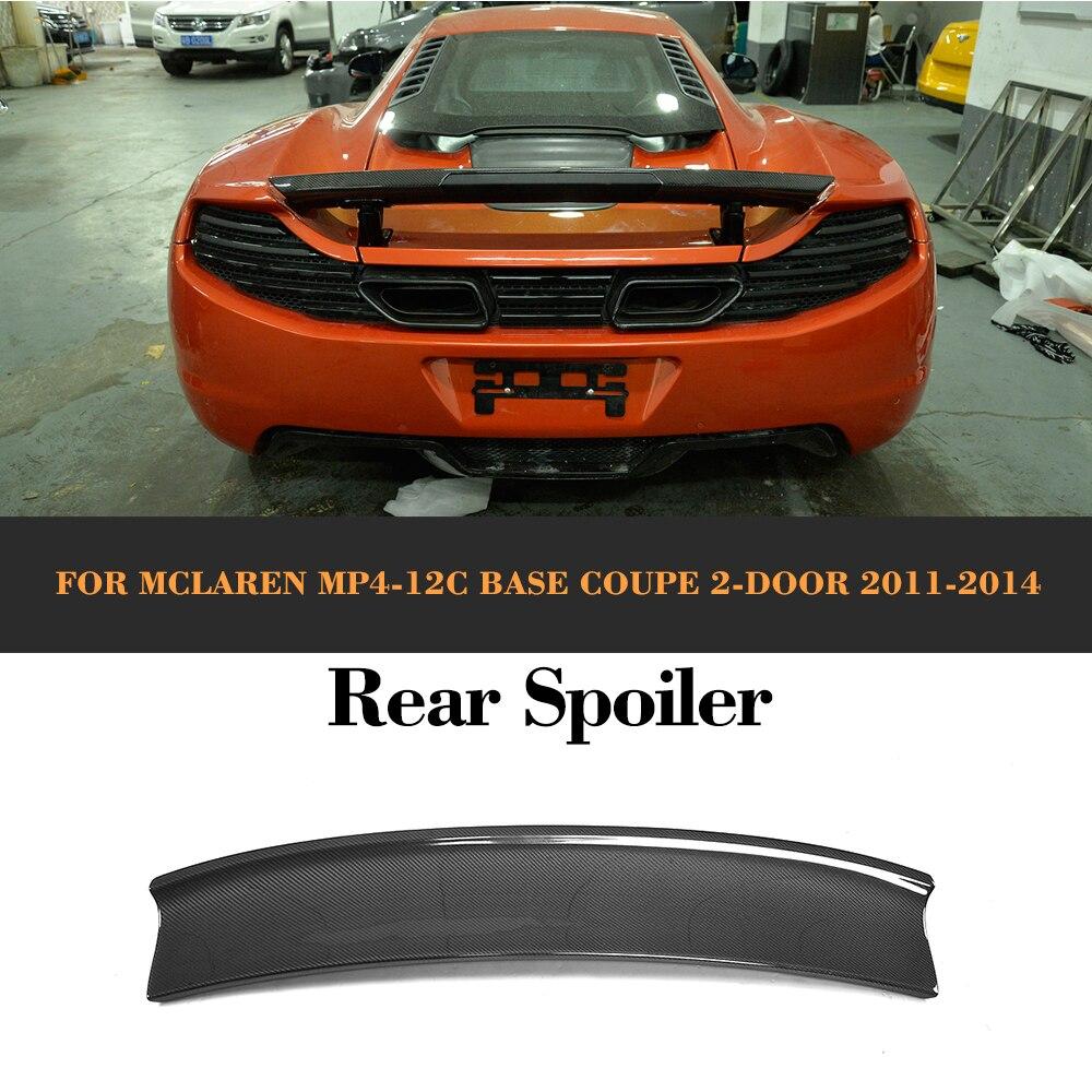 Alerón activo para maletero trasero de fibra de carbono para McLaren MP4- 12C Base Coupe 2 puertas 2011 2012 2013 2014 estilo de coche