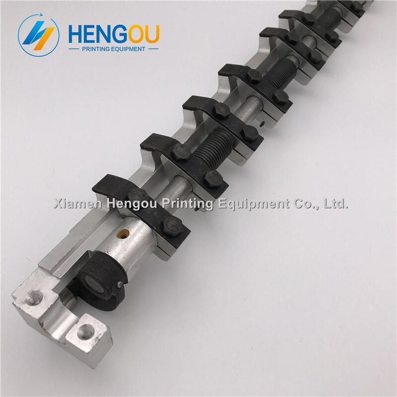 2 peças 69.014.003f gto52 conjunto da barra do prendedor para a máquina de impressão deslocada offset gto 52