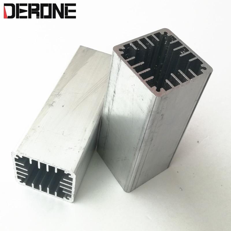 1 peça 4 cm ventilador radiador perfil de alumínio túnel de refrigeração 40*40mm comprimento pode ser personalizado frete grátis