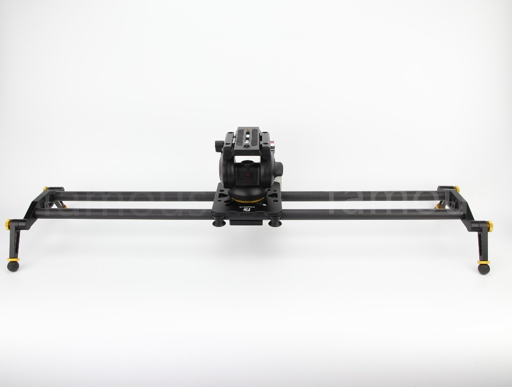Famoso F8 II actualización profesional de viaje portátil de fibra de carbono 80cm Cámara deslizante video dolly track 80cm slr rail diy dslr