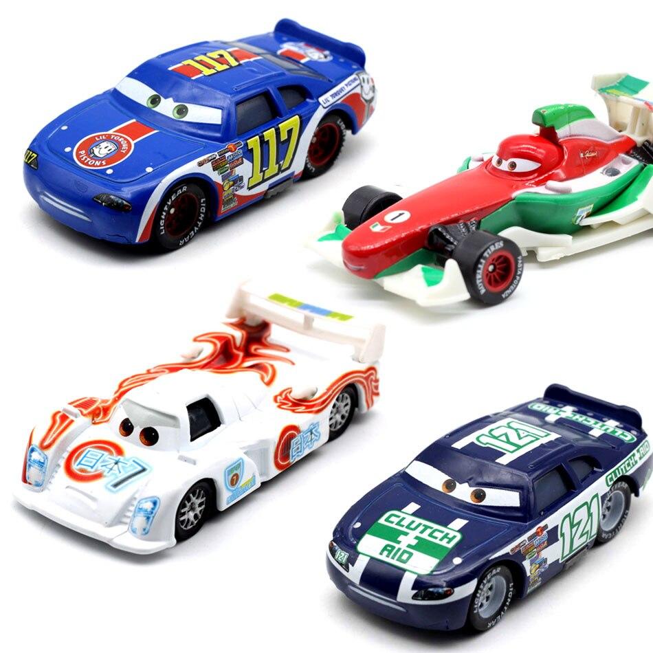 23 Стиль Disney машинок пиксара и гонки с рисунками из мультфильма «Тачки 2 3 игрушки Lightnig Маккуин Mater Ramirez 1:55 литья под давлением игрушки из метал...
