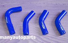 Manguera de silicona azul reforzada para Yamaha RD350/RZ350 todos los años de modelo