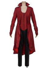 Avengers Age dultron sorcière écarlate Wanda Maximoff Costume Cosplay