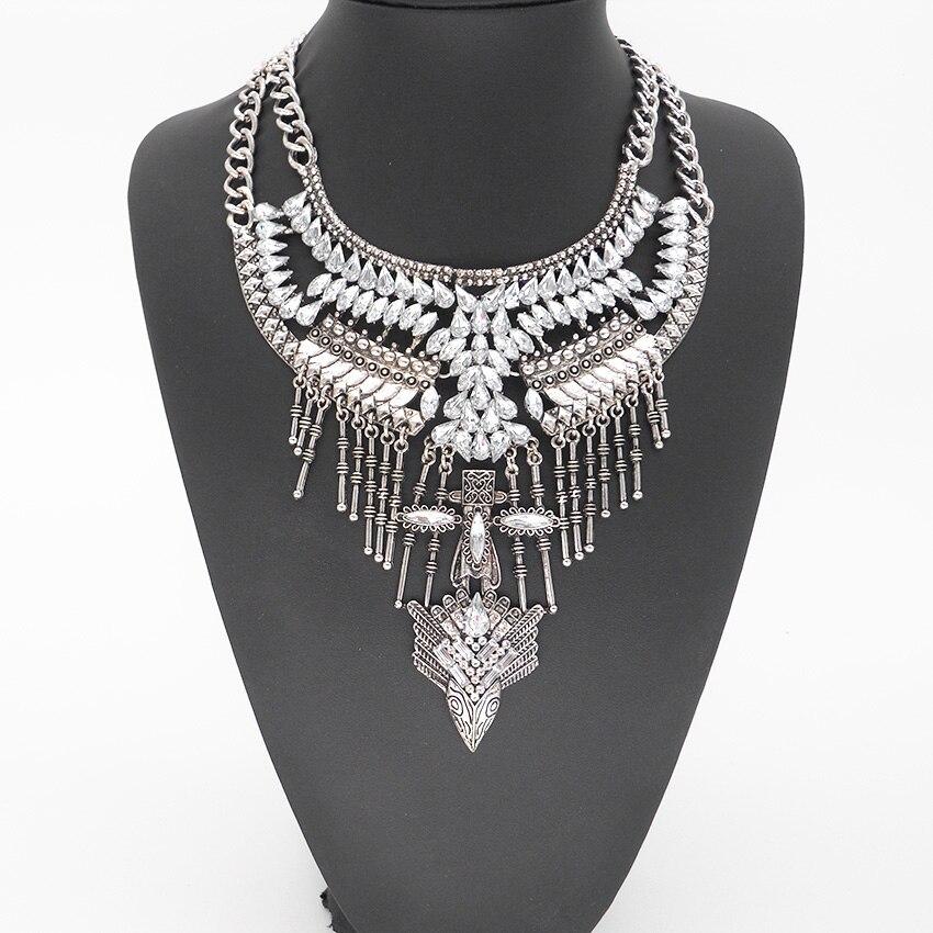 PPG & PGG joyería de lujo de moda mujeres Bijoux Vintage borla declaración de cuello gargantilla Maxi collar