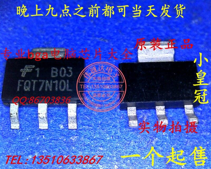 20 шт./lote FQT7N10LTF FQT7N10L SOT223 3 lote   