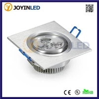 wholesale 3w 6w 9w high power led downlights warmcold white ac85 265v led ceiling lamps