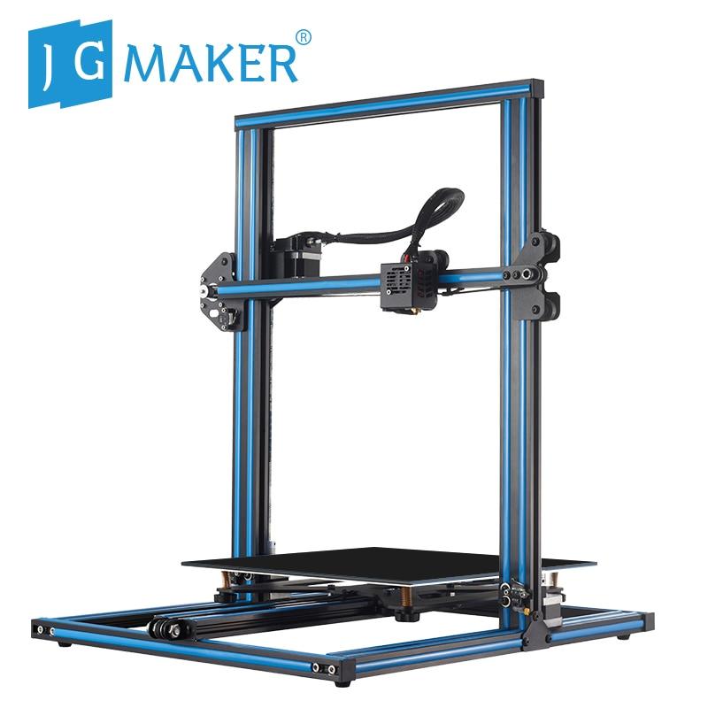 Nuevo JGAURORA JGMAKER A5X impresora 3D 2,8 HD pantalla táctil DIY Kit BDG cama climatizada doble eje Z tornillo Rod 3d máquina de impresión