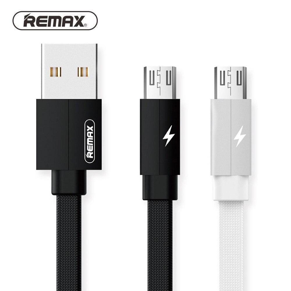 Remax 2m 1m câble de données câble de Charge Micro USB IOS Type C câble de chargement en métal 2.1A câble de chargeur rapide résistant pour Iphone Huawei