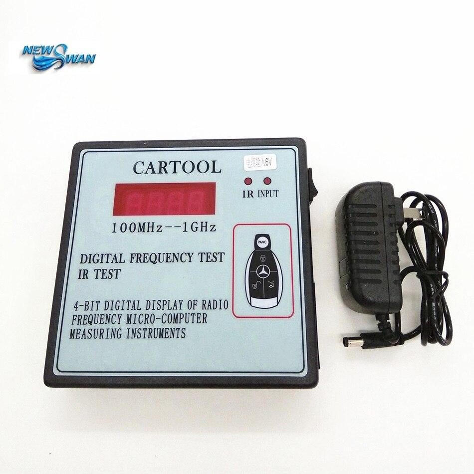 SK-690 pantalla Digital 1 Bit Go instrumentos de radiofrecuencia para medir Micro-ordenador Control remoto inalámbrico coche llave probador