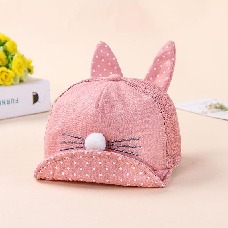 Moda coelho design chapéu do bebê primavera verão chapéus para meninos meninas multicolorido casual balde crianças chapéu bebê bonito bonés