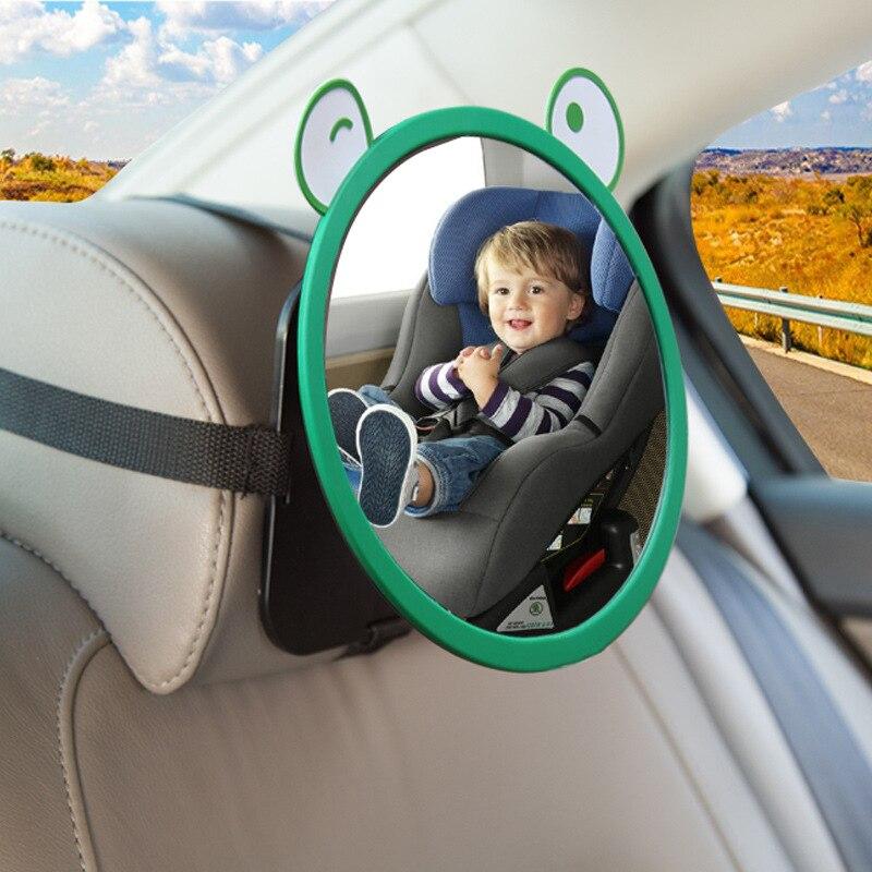 Car Rear View Mirror Cartoon Baby Chair Mirrors Universal Car Safety Backseat Rear View Observe Mirror car accessories interior