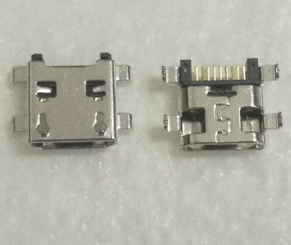 10 Uds micro usb mini conector Jack del puerto de carga conector para Samsung Galaxy Core I8260 I8262 I9192 S4 S5310 S5312 S6310 S6312
