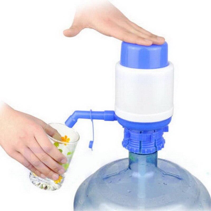 Prensa Manual de agua potable embotellada de 5 galones, dispensador de agua potable embotellada a mano, dispensador con pulsador 2017, interior al aire libre VB056 T10