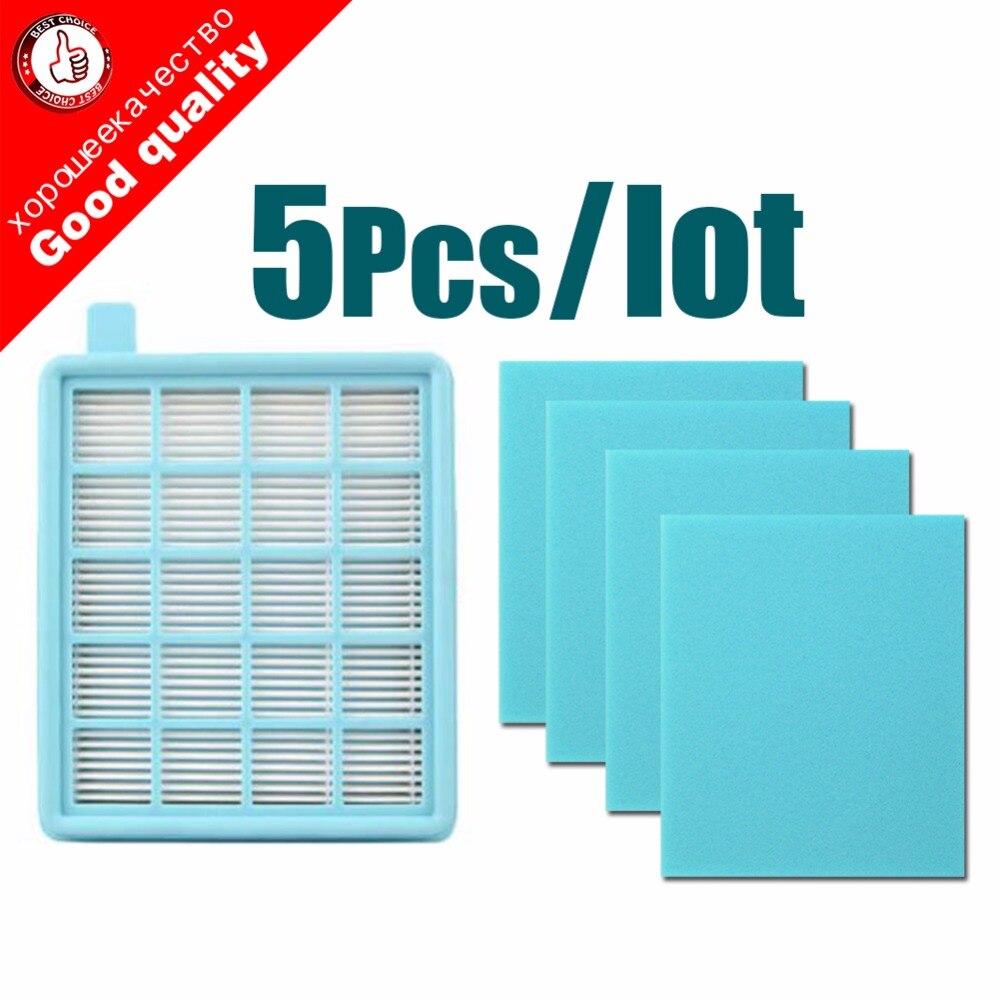 Сетчатый фильтр HEPA, 5 шт./партия, фильтр BUFFALO-MISTRAL для пылесоса Philips FC8470 FC8471 FC8472 FC8473 FC8474 FC8476 FC8477