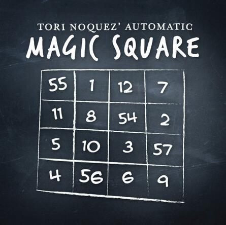 Plaza de magia automática, anunciada por Tori noez, trucos de magia