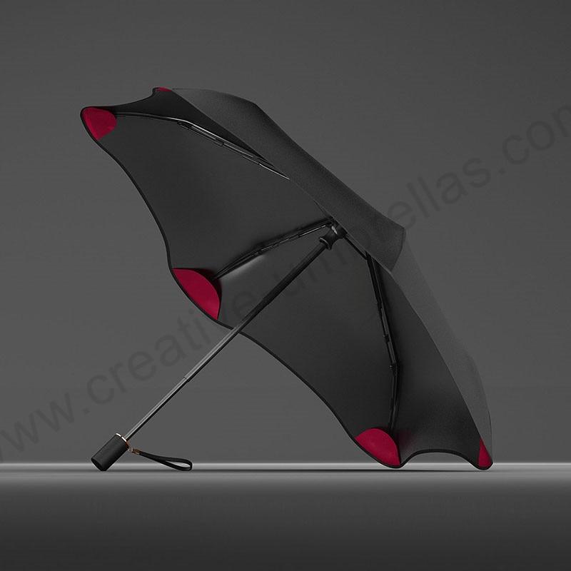 100 см складной ручной авиационный сплав анти-гром стекловолокна цветочный цветок сливы зонтик 5 раз черное покрытие анти-УФ зонтик