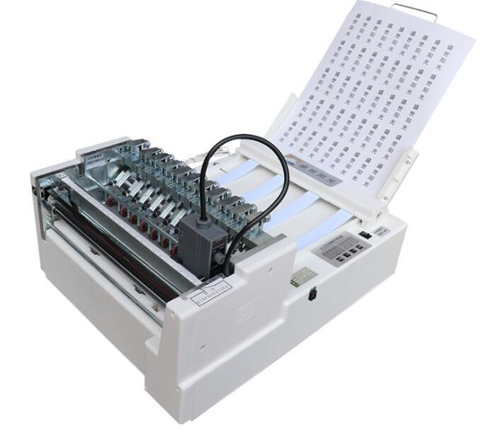 آلة وسم ذاتية اللصق ، آلة قطع الملصقات الأوتوماتيكية عالية السرعة ، قالب مزدوج A4