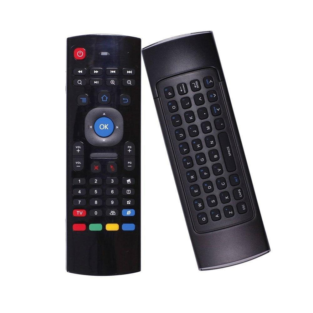 MX3 ratón de aire para tx3 mini KM8P X96 Mini H96 pro android tv box mini pc Smart TV 2,4 mini teclado inalámbrico Ghz